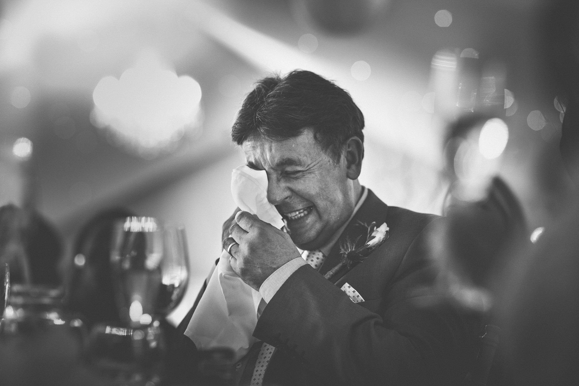 Best wedding photography 2016 - dad crying at speeches