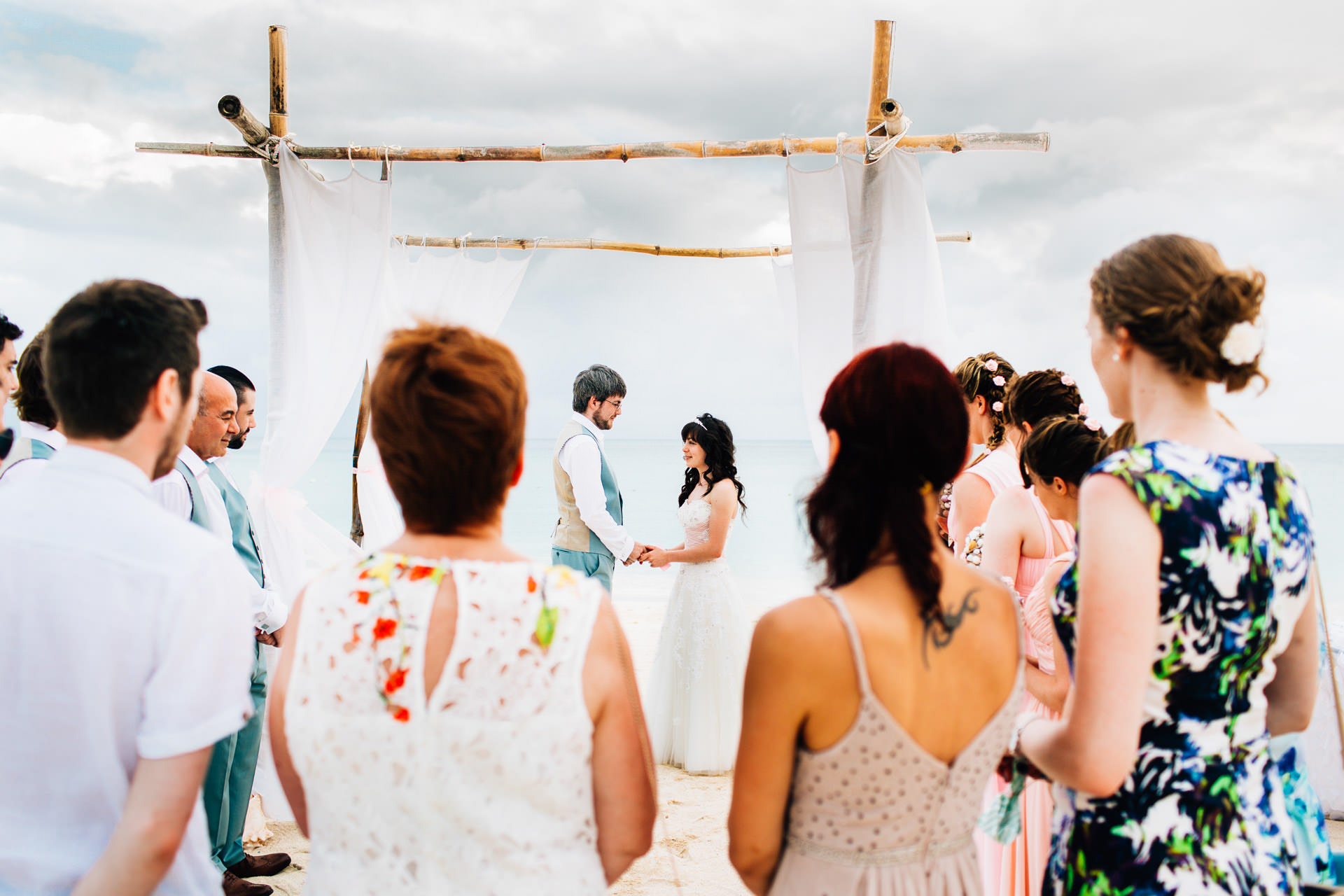 Best wedding photography 2016 - ceremony on the beach in the caribbean